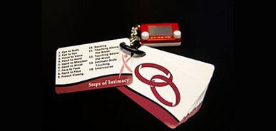 Steps of Intimacy Cards with Etch-a-Sketch
